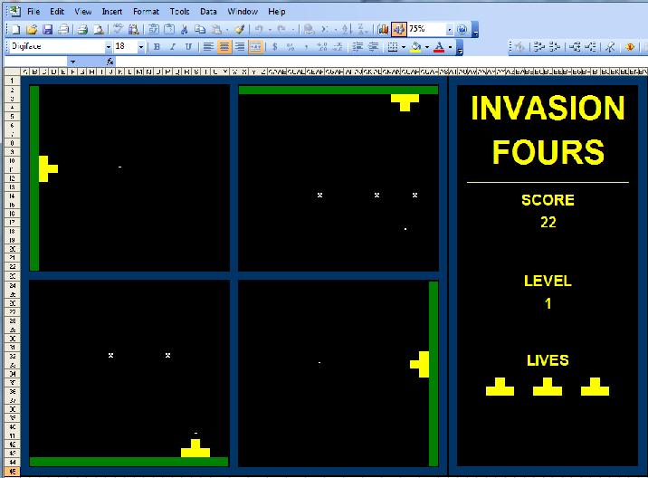 invasion fours
